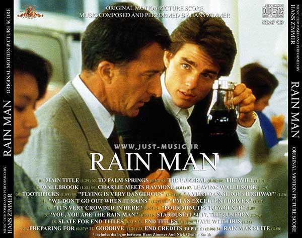 موسیقی متن فیلم مرد بارانی Rain Man