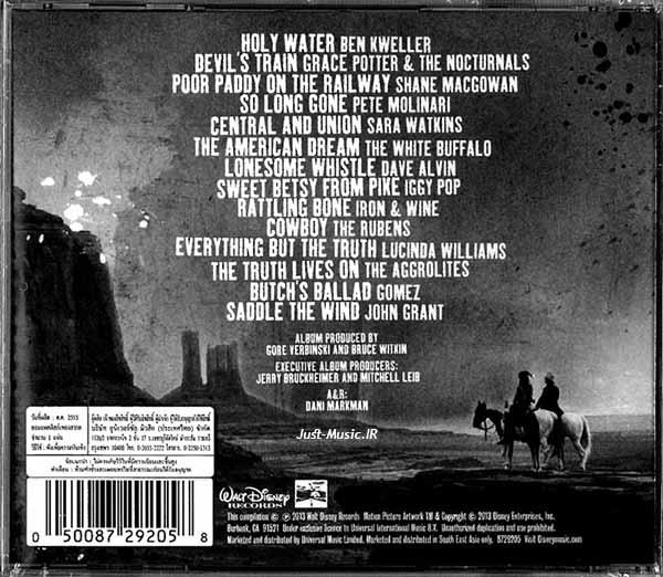 موسیقی متن فیلم رنجر تنها از هانس زیمر