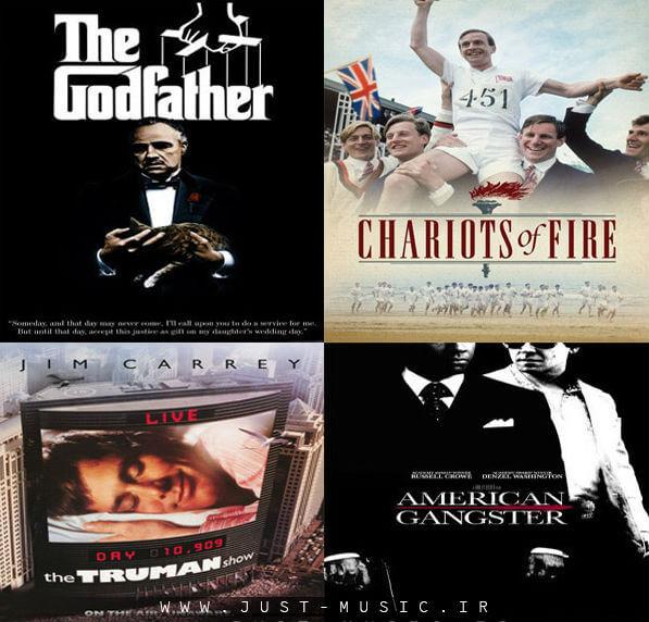 99 آهنگ کلاسیک برتر پخش شده در فیلم ها