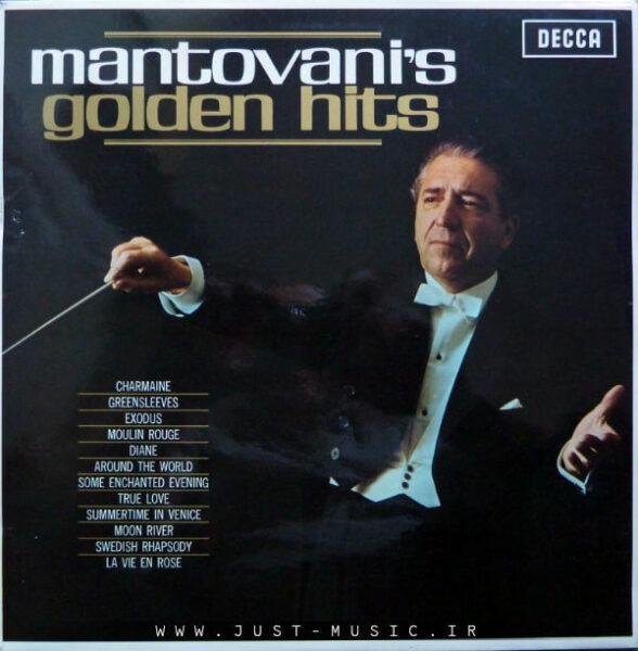 مجموعه بهترین آهنگ های مانتووانی Mantovani