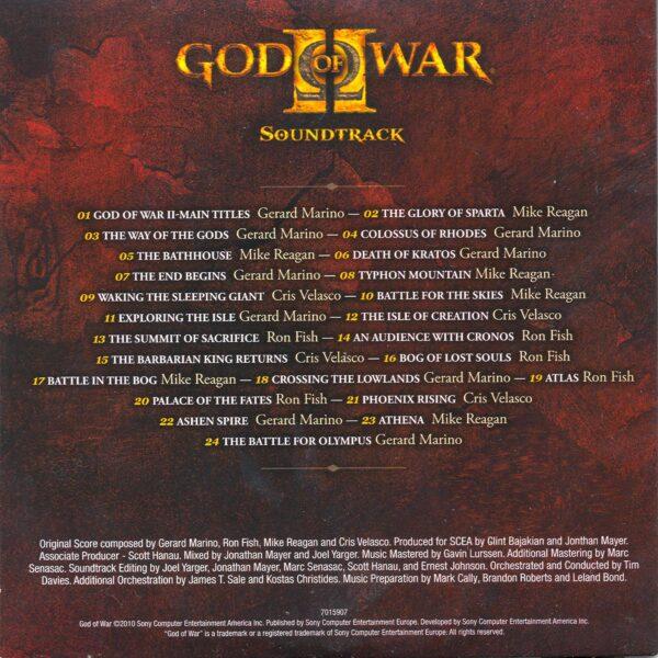 موسیقی متن بازی خدای جنگ 2 God of War