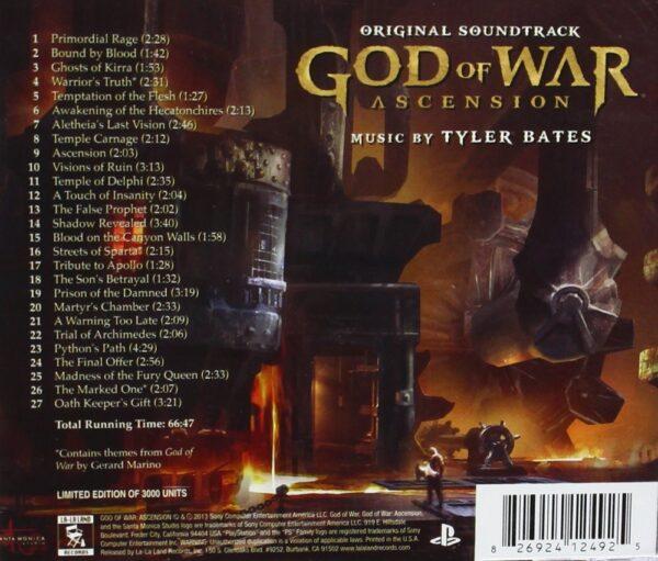 موسیقی متن بازی خدای جنگ: معراج God of War Ascension