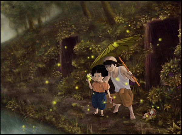 مدفن کرمهای شب تاب Grave of the Fireflies