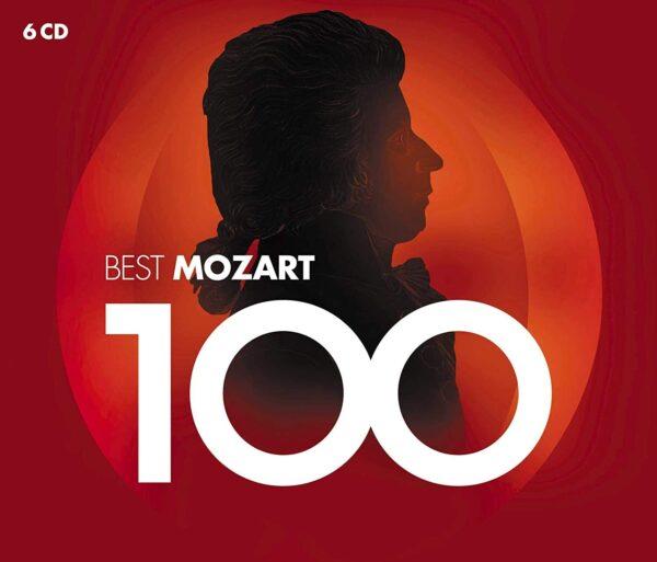 کاور اصلی 100 موسیقی برتر موتسارت (موزارت) Best Mozart