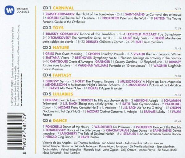 کاور پشتی 100 موسیقی کلاسیک کودکان برتر Best Children's Classics