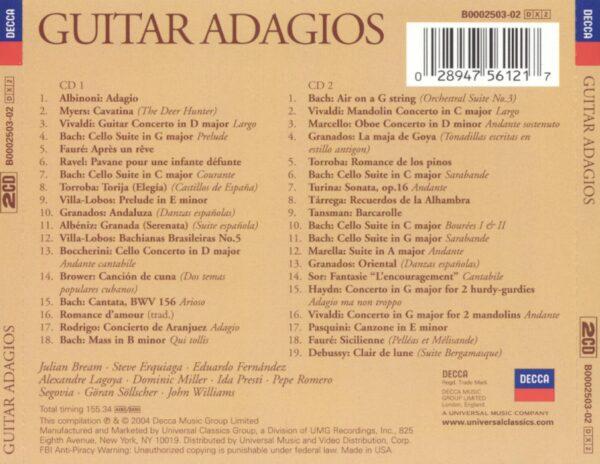 کاور پشتی بهترین آهنگ های آداجیو گیتار Guitar Adagios