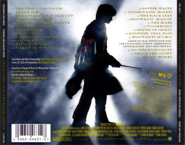 کاور پشتی موسیقی متن فیلم هری پاتر و جام آتش (4) Harry Potter and the Goblet of Fire