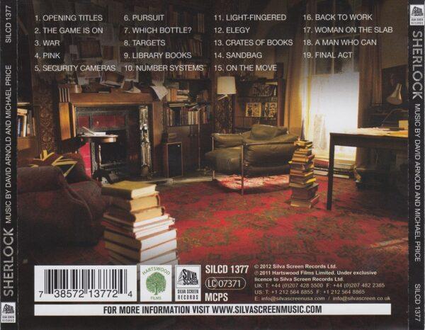 کاور پشتی موسیقی متن سریال شرلوک Sherlock