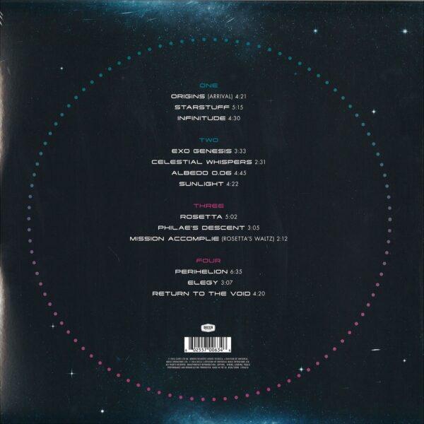 کاور پشتی آلبوم موسیقی Rosetta (رزتا) اثری از ونگلیس Vangelis