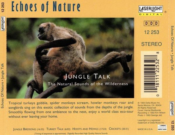 کاور پشتی مجموعه صدای جنگل Jungle Talk