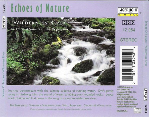 کاور پشتی مجموعه صدای رودخانه های وحشی Wilderness River